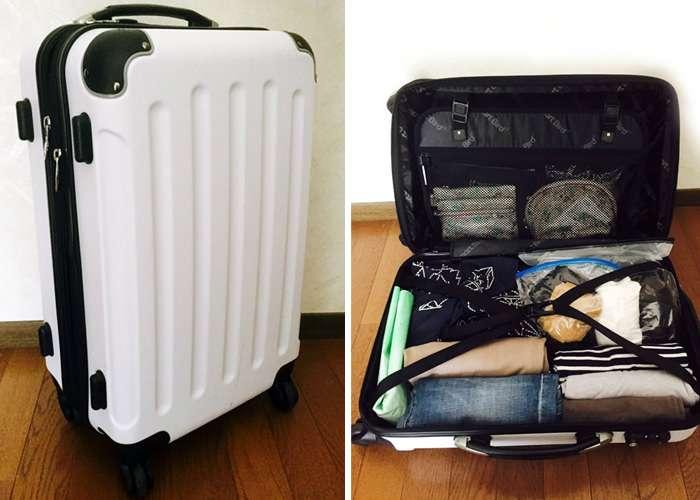 衣類をコンパクトに収納!スーツケースのパッキング術と荷造りのコツ   |  くらべルート