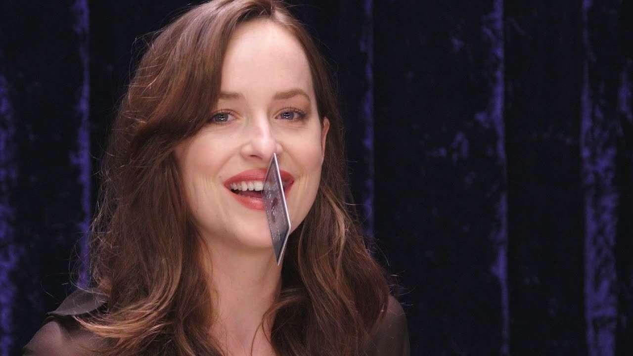 How Much Stuff Can Dakota Johnson Fit in Her Gap Teeth? | Secret Talent Theatre | Vanity Fair - YouTube
