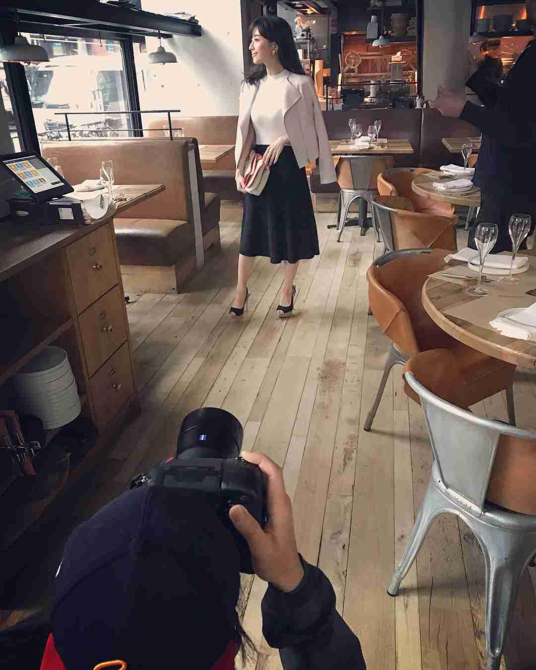 """美人百花 on Instagram: """"今日は田中みな実ちゃんと、恵比寿のリグニス他で撮影でした"""