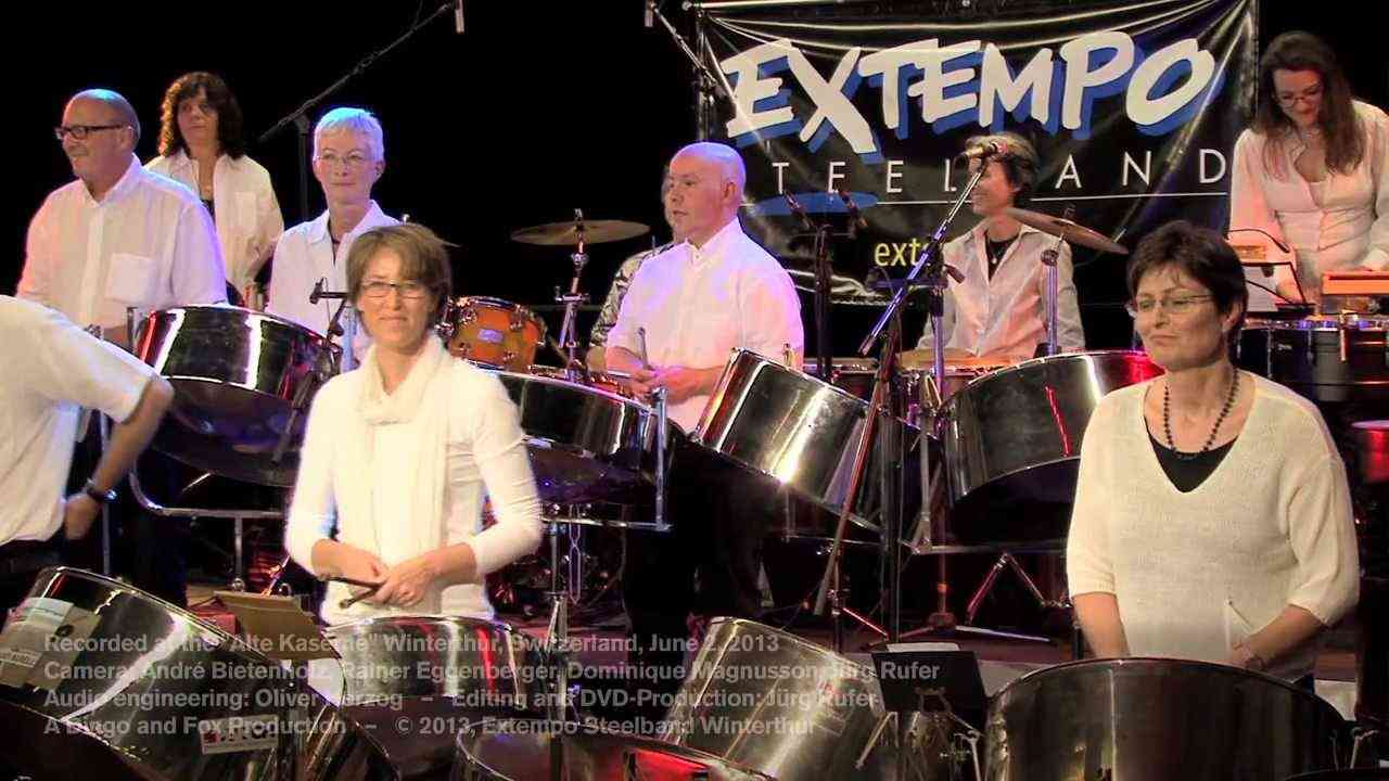 Extempo Steelband: Say Si Si - YouTube
