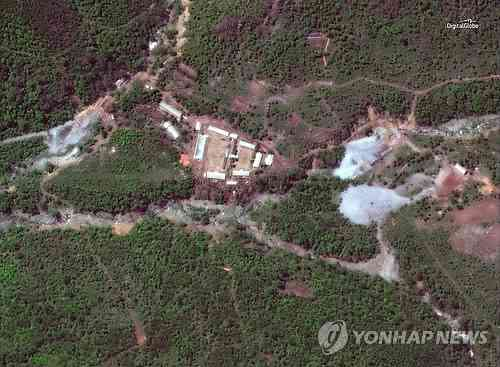 北朝鮮、豊渓里にある核実験場の坑道を爆破し廃棄 - ライブドアニュース