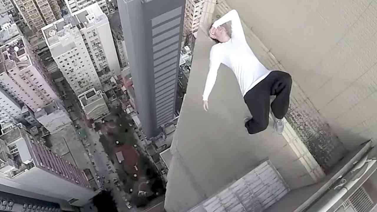 【閲覧注意】高層ビルでパルクール!パート2【Video Pizza】 - YouTube