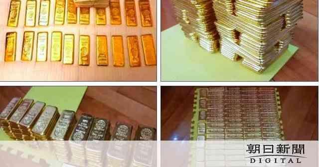 旅行客使い金塊密輸 韓国人5千人以上を「運び屋」に:朝日新聞デジタル