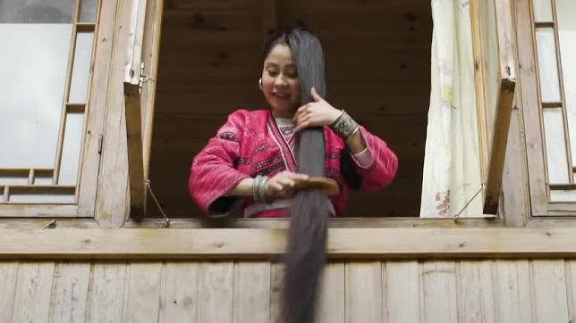 リアル「ラプンツェル」が暮らす村が中国にある - GIGAZINE