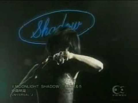 Akina Nakamori - Moonlight Shadow ~ 月に吠えろ - YouTube