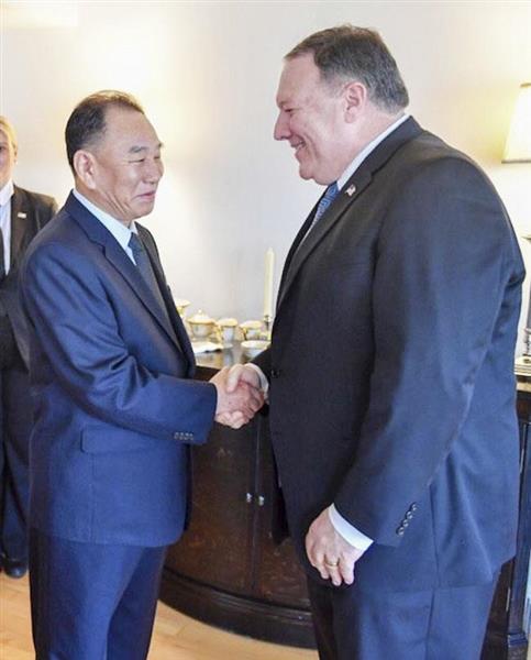 【激動・朝鮮半島】ポンペオ米国務長官、金英哲両氏がNYで夕食会 - 産経ニュース