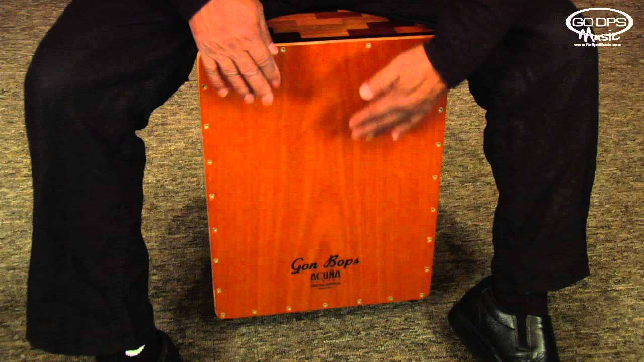Alex Acuna demonstrating his Signature Special Edition Cajon from Gon Bops - YouTube