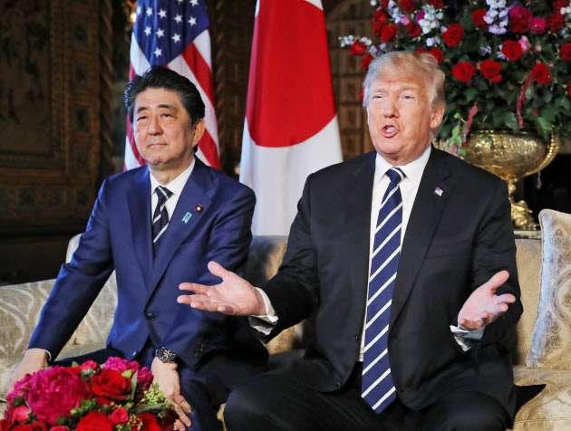 米朝会談直後 トランプ氏来日へ調整 6月中旬  :日本経済新聞