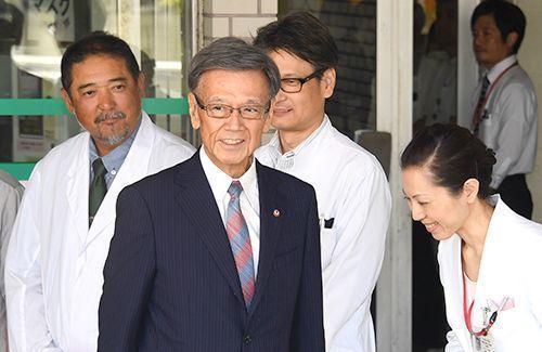 翁長知事が膵臓がんステージ2を公表 治療続けながら公務復帰目指す 2期目出馬は明言せず - 琉球新報 - 沖縄の新聞、地域のニュース