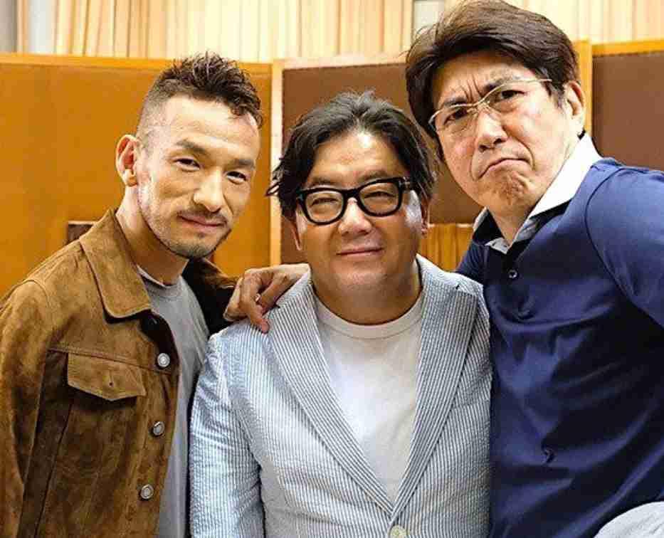 中田英寿、秋元康、とんねるず石橋貴明 3ショットに「それぞれの世界のレジェンド!」の声