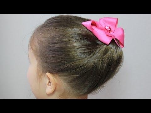 かんたん かわいい まとめ髪/ギブソンタック2 Simple updo hairstyle / Gibson tuck - YouTube