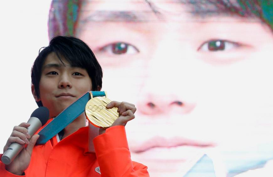 Government looking to recognize two-time gold medalist Yuzuru Hanyu with People's Honor Award | The Japan Times