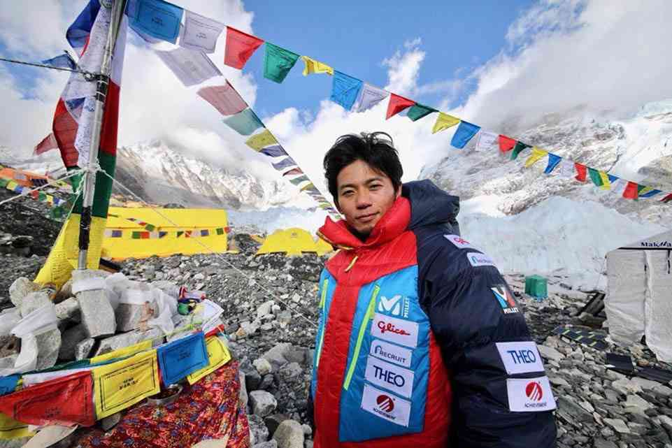 Japanese alpinist Kuriki dies while descending from Camp III to Camp II