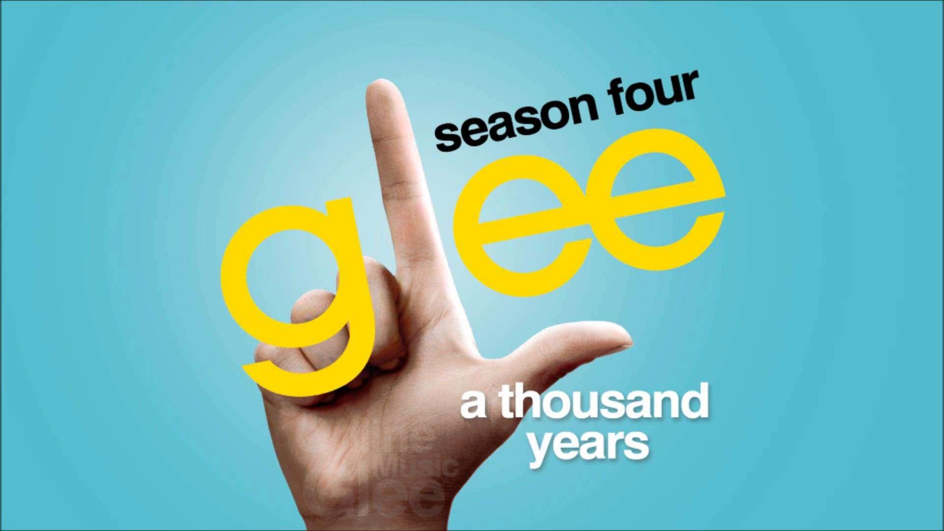 A Thousand Years - Glee [HD Full Studio] - YouTube