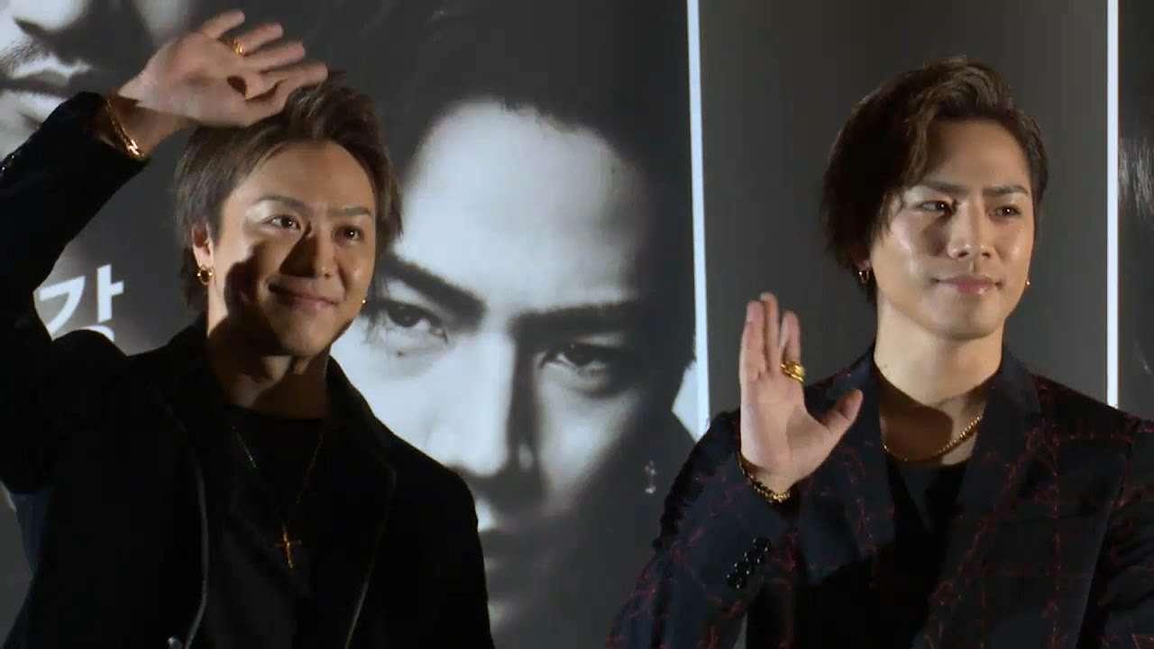 [풀영상] 타카히로·토사카 히로오미 '하이&로우 더 레드 레인' 쇼케이스 (Exile, 登坂広臣, 田崎敬浩, High&Low The Red Rain) [통통영상] - YouTube