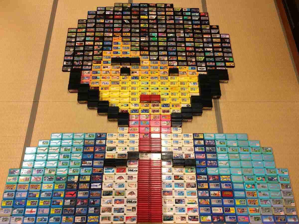 「犯人は…」ファミコンカセットで描かれたドット絵が壮大!