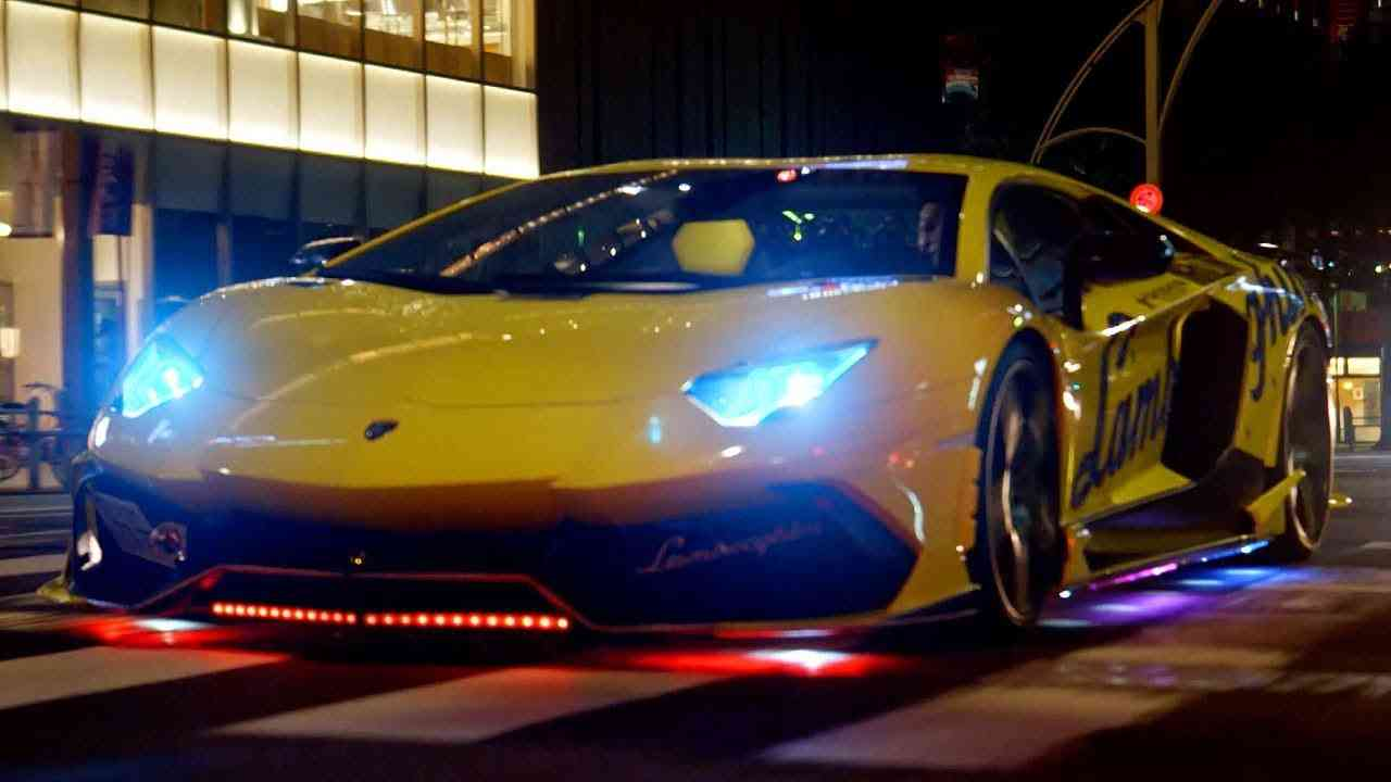 Lamborghini Run In Japan | Top Gear: Series 25 - YouTube