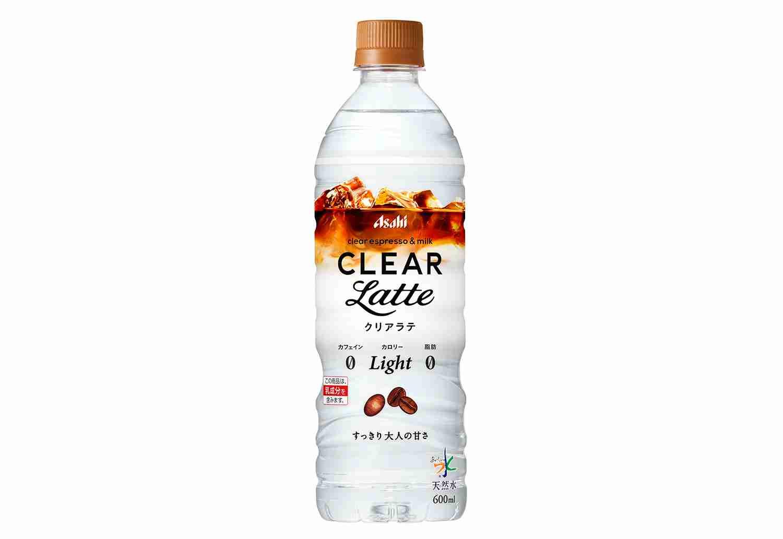 水じゃなくて「カフェラテ」ですと? 新商品「アサヒ クリアラテ from おいしい水」が登場