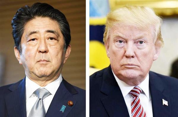 安倍首相 6月上旬に訪米案浮上 トランプ米大統領と北情勢をすり合わせ - 産経ニュース