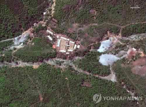 北朝鮮、豊渓里にある核実験場の坑道を爆破し廃棄