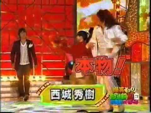 山口智充 西城秀樹のまね 情熱の嵐 - YouTube