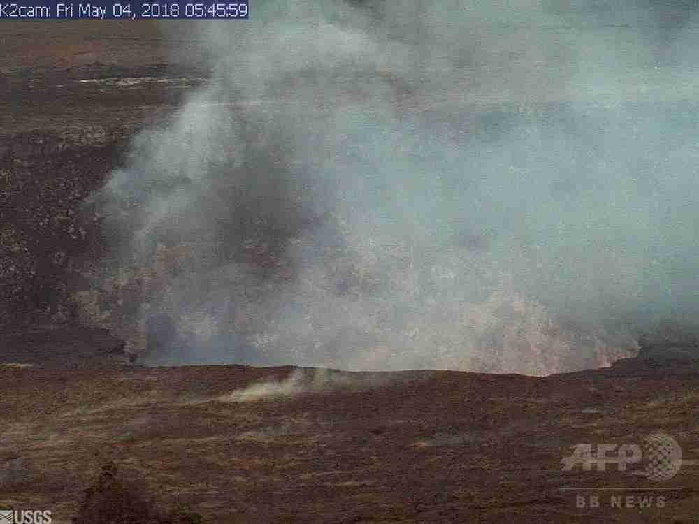 米ハワイでM6.9の地震、キラウエア火山がまた噴火 写真10枚 国際ニュース:AFPBB News