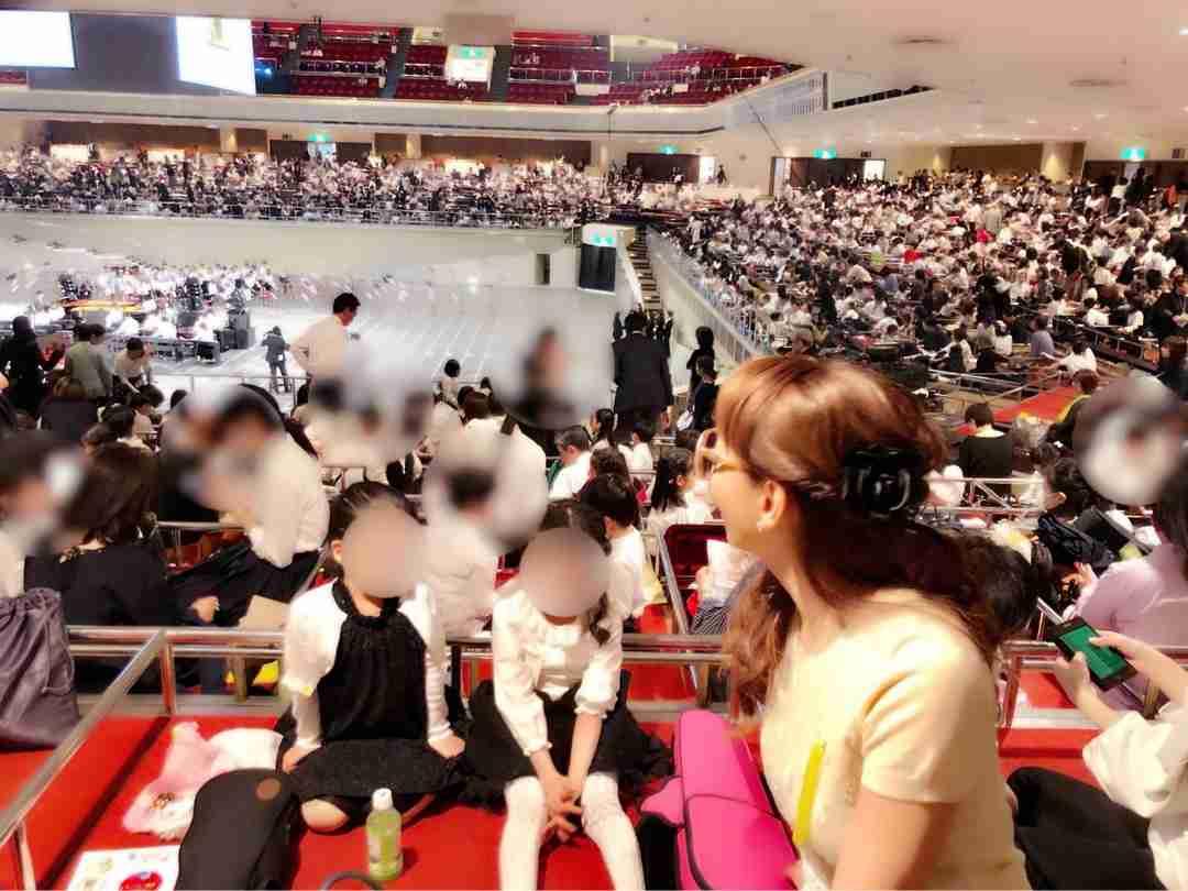 神田うの 両陛下の動画を感激投稿…娘のコンサートにご臨席