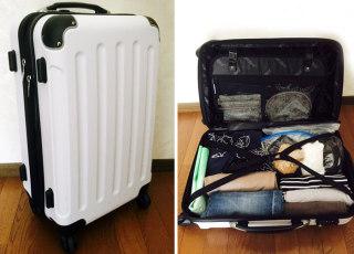 旅行の荷物が多くなる