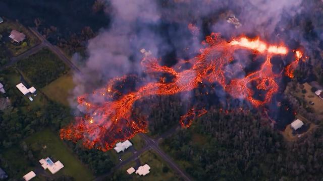 CNN.co.jp : ハワイの火山、爆発的噴火の恐れ 火山スモッグや酸性雨にも要警戒 - (1/2)