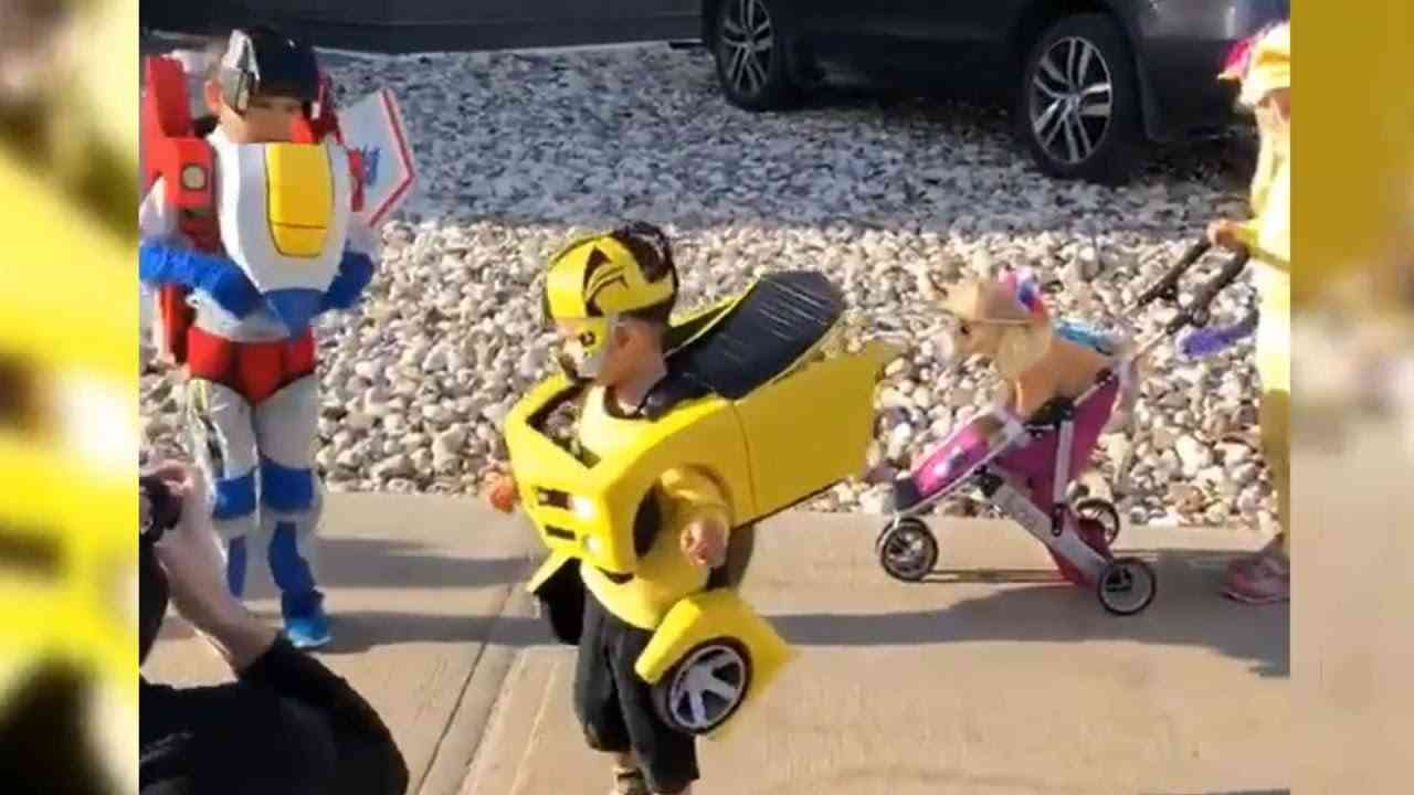 These Transformers Kids Were Amazing!! - YouTube
