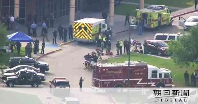 テキサスの高校で銃撃、8人以上死亡 容疑者は同校生徒:朝日新聞デジタル