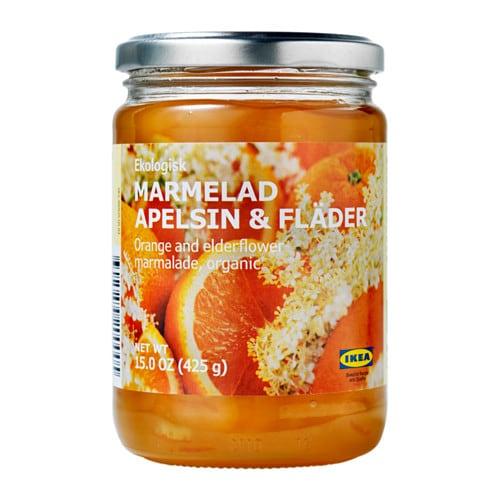 MARMELAD APELSIN & FLÄDER オレンジ&エルダーフラワー マーマレード, オーガニック - IKEA