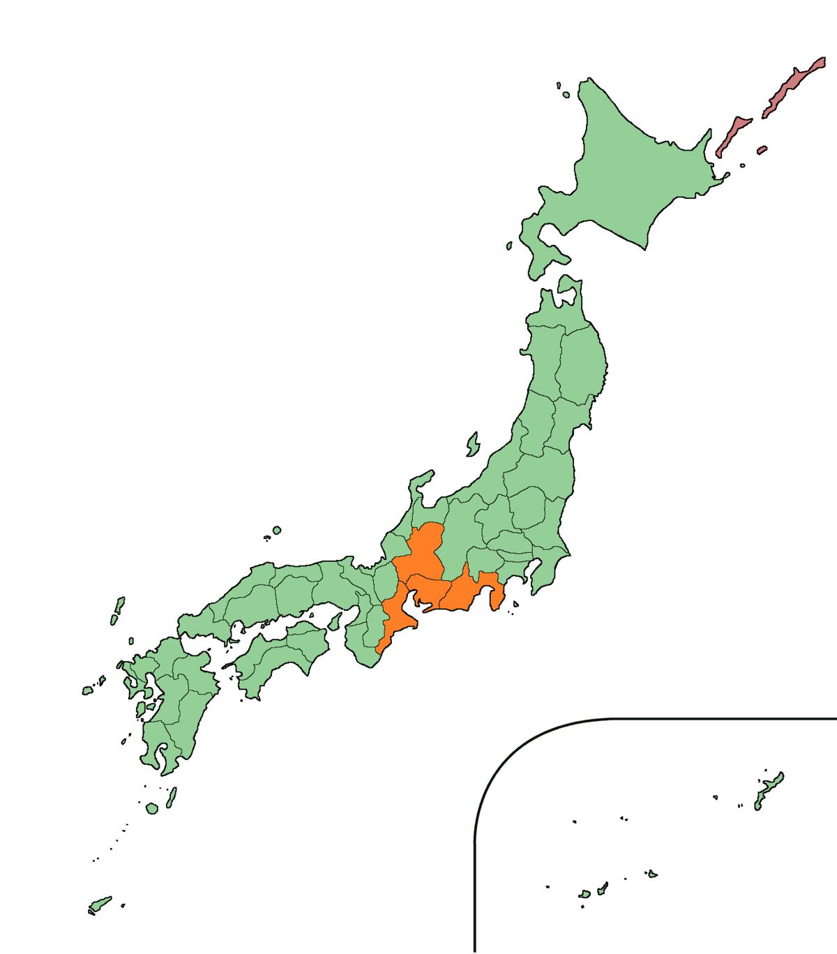 東海地方 - Wikipedia