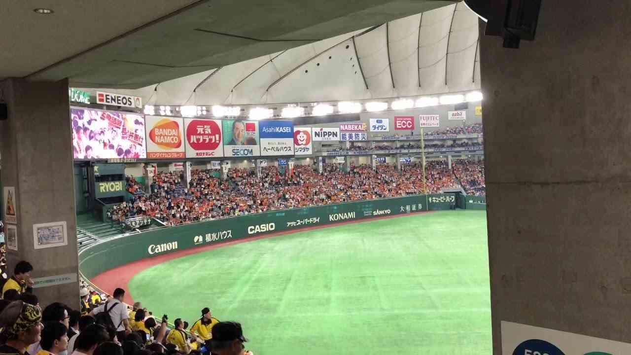 【商魂こめて】2018/5/10 阪神対巨人 - YouTube