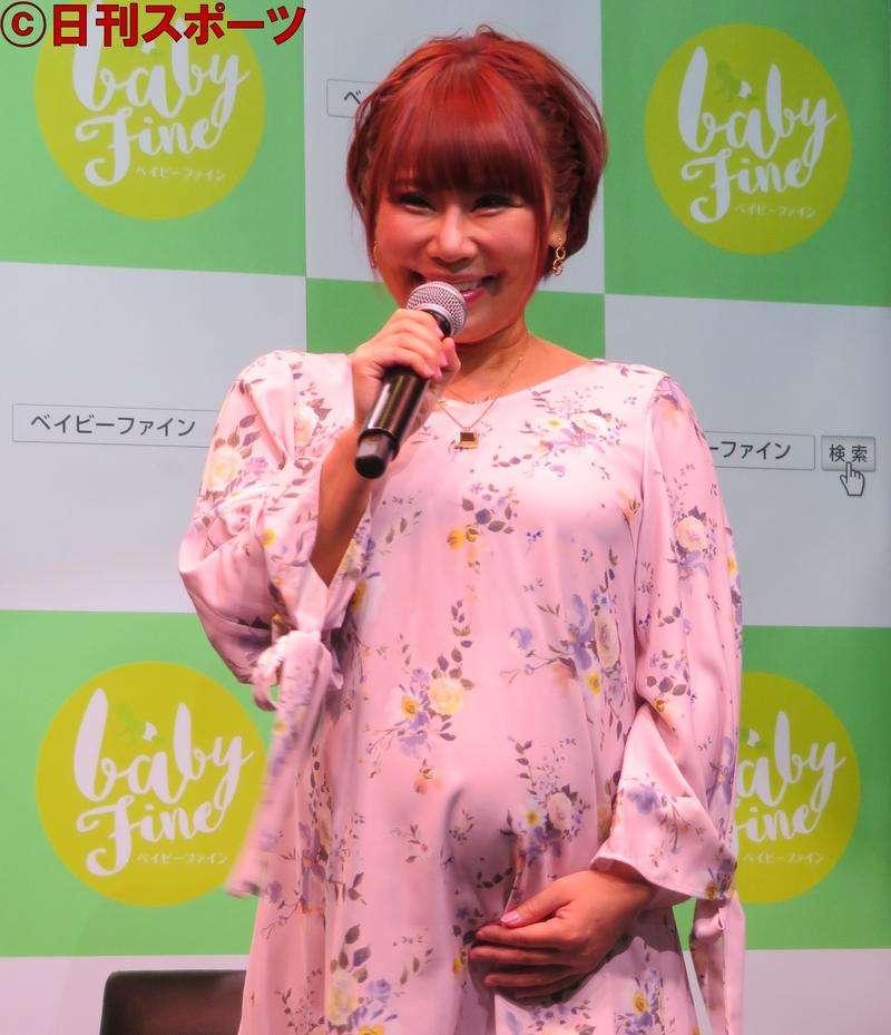 浜田ブリトニー、長女「雫」と命名「幸せな毎日を」 - 芸能 : 日刊スポーツ