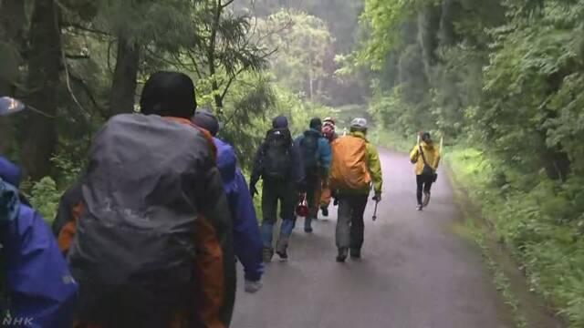 登山の男性と小1息子 遭難か 捜索始まる | NHKニュース
