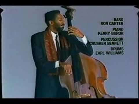 サントリーウィスキーホワイトCM ロン・カーター - YouTube