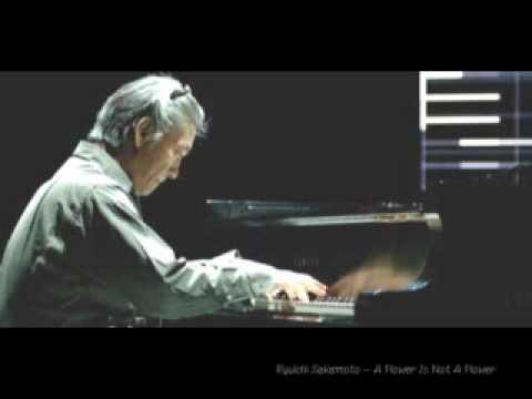 Ryuichi Sakamoto - A Flower Is Not A Flower - YouTube