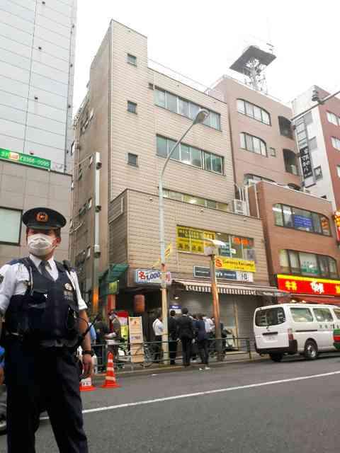 新宿の事務所で緊縛強盗 3500万円奪い逃走 東京:朝日新聞デジタル