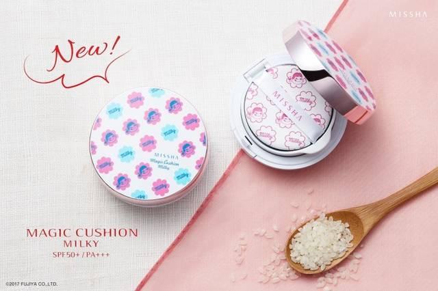 【MISSHA(ミシャ)×不二家】がコラボしたまるでミルキーキャンディーのような化粧下地が2月1日(木)より日本限定&数量限定で発売 - ふぉーちゅん