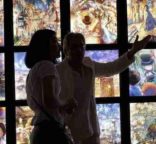 キングコング西野亮廣がニューヨークで個展、大盛況