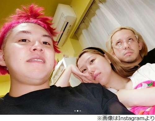 ぺこ&りゅうちぇる&ぺえのすっぴん3ショット