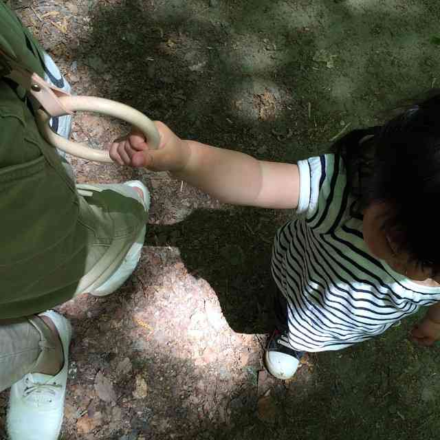 子ども用のつり革「こわっか」がすごく便利そう