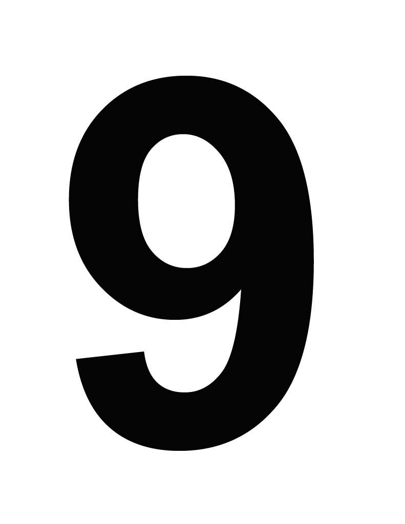 一桁で好きな数字