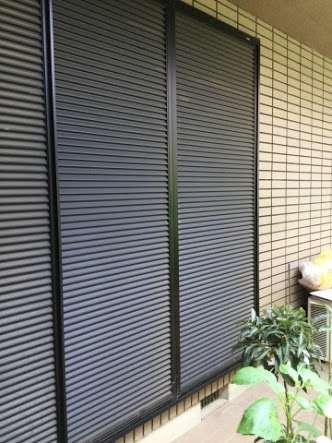 雨戸や壁、窓について話すトピ(家の外側)