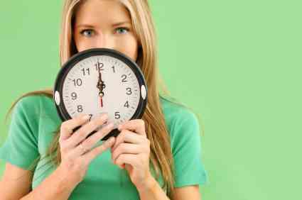 時間は作るものですか?