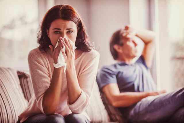 体調不良の時のパートナーの対応は?