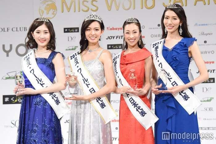(画像10/37) 「ミス・ワールド2017」日本代表決定 現役慶応大生に栄冠