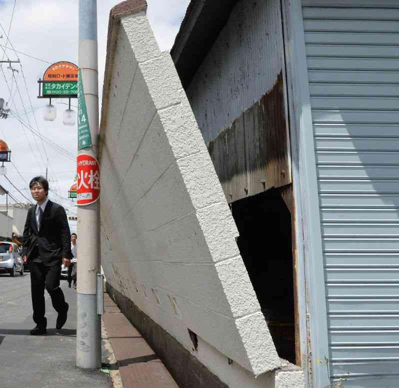 ブロック塀倒壊で女児死亡 3年前に専門家が危険性指摘→市教委が点検「危険はない」と報告