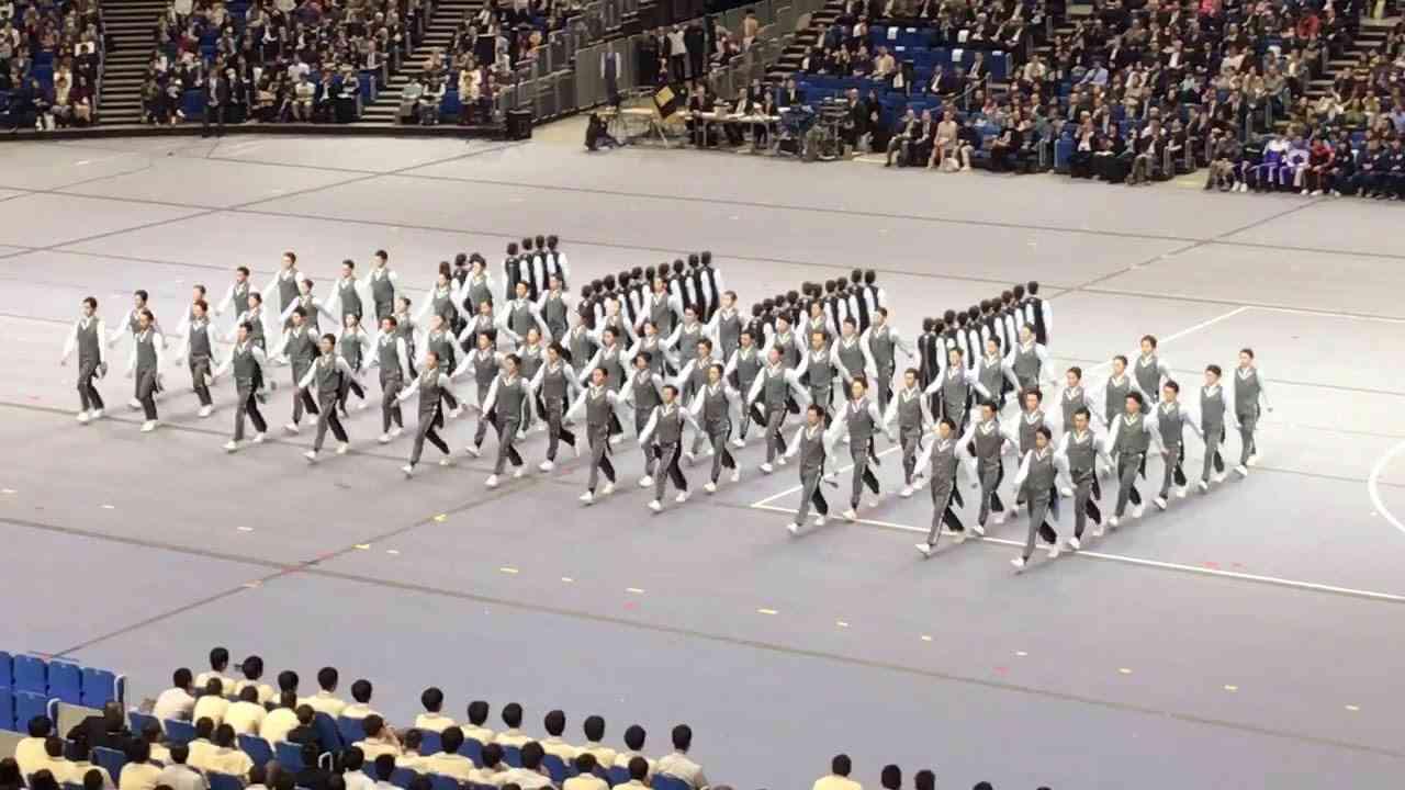 日体大 集団行動2017 - YouTube